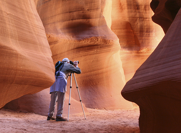 If clients have a DSLR camera and a tripod, they can participate in special photography tours. // © 2015 iStock