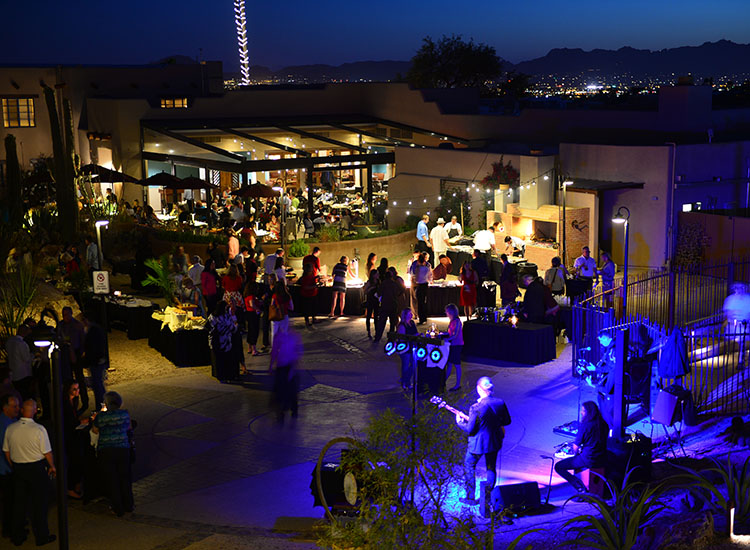 GTM West attendees enjoyed a welcome reception sponsored by Visit Tucson at Hacienda Del Sol Guest Ranch. // © 2016 Jim Harris