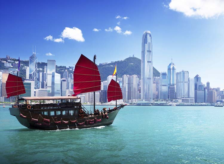 Hong Kong may be home to more than 7 million people, but it's worth visiting for its East-meets-West culture. // © 2014 Thinkstock