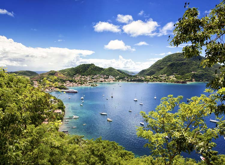 Terre-de-Haut is one of two municipalities in the French Iles des Saintes, located in the Caribbean. // © 2014 Oliver Hoffmann/Thinkstock