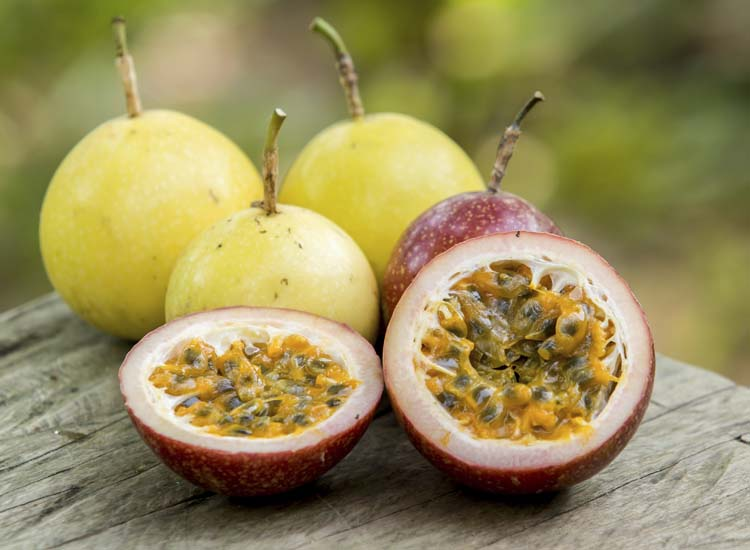 This lesser-known passion fruit varietal packs a healthy punch of vitamin C and potassium. // © 2014 Thinkstock