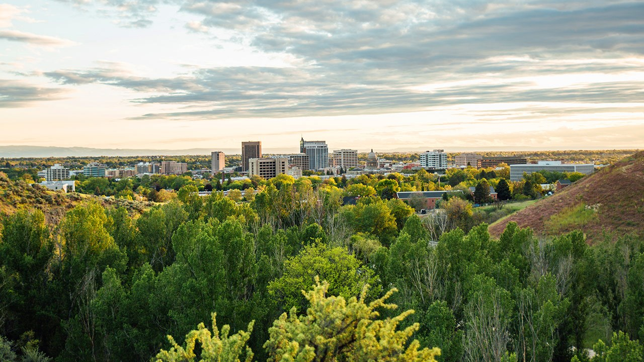 "Boise is known by its apt nickname: ""The City of Trees."""