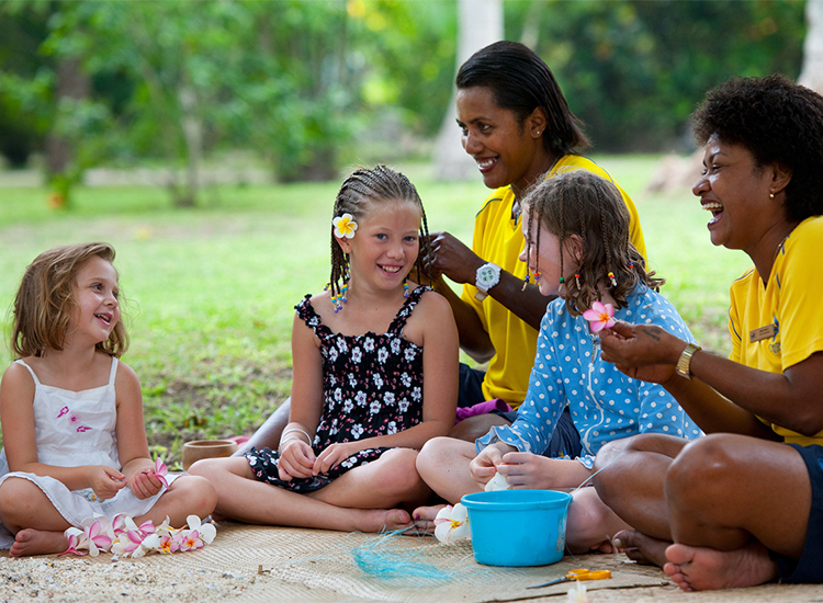 Resorts in Fiji offer an array of fantastic kids' clubs, including Castaway Kids' Club at the Castaway Island, Fiji resort. // © 2014 Castaway Island, Fiji