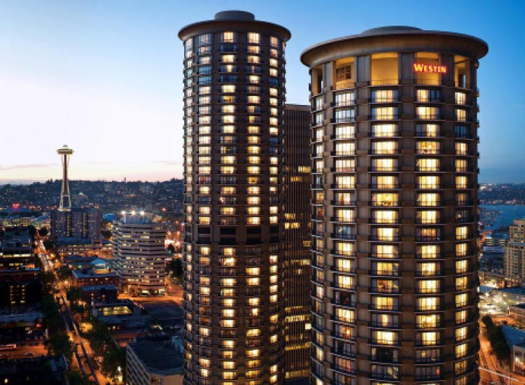 Families enjoy staying at The Westin Seattle for its amenities geared toward young guests. // © 2015 The Westin Seattle
