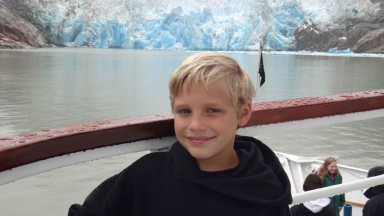 Ten well-traveled kids revealed their favorite trips; Tobias Whitley's top trip was a small-ship cruise to Alaska. // © 2016 Amy Whitley