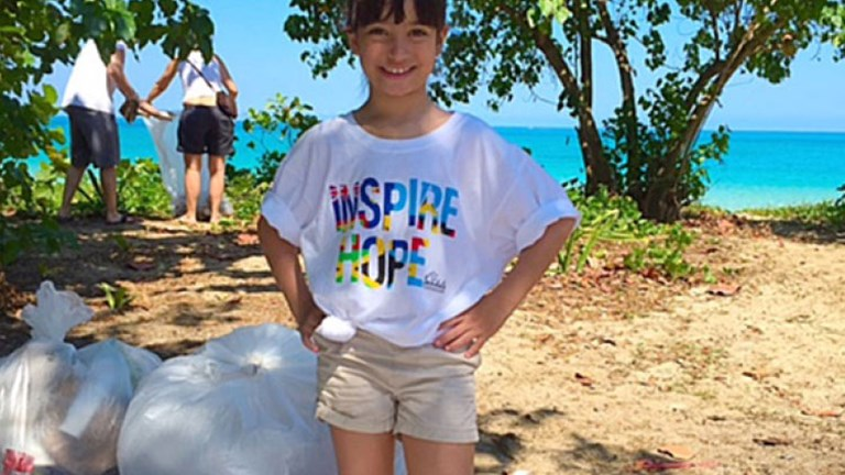 Getting to volunteer with The Sandals Foundation, in addition to exploring Beaches Negril, resulted in a memorable trip for Sadie Storch. // © 2016 Monica Storch