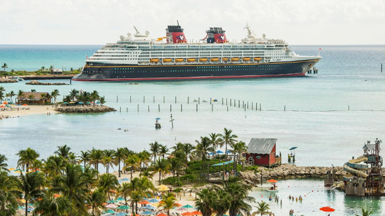 Cruise lines' private islands help fulfill passengers Caribbean dreams. Disney's Castaway Cay is a 1,000-acre private island. // © 2018 Disney Cruise Line