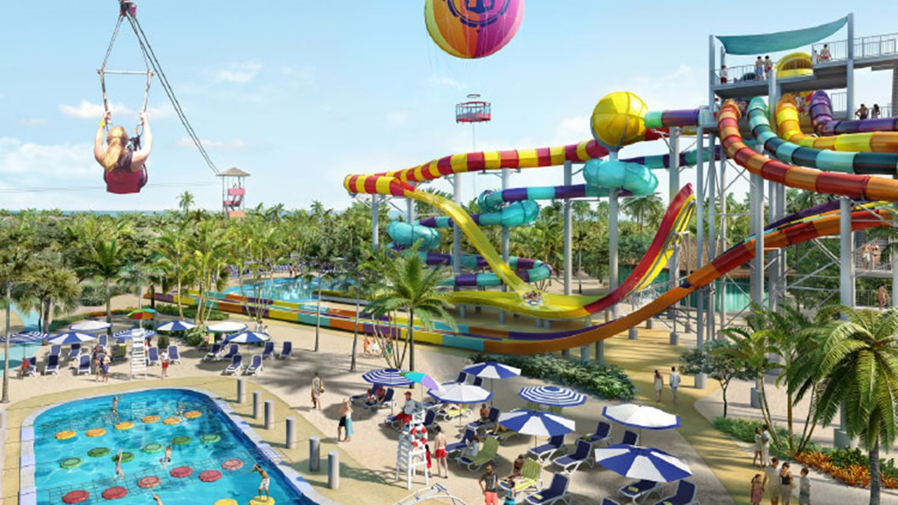 Royal Caribbean International has plans to update its CocoCay. // © 2018 Royal Caribbean International