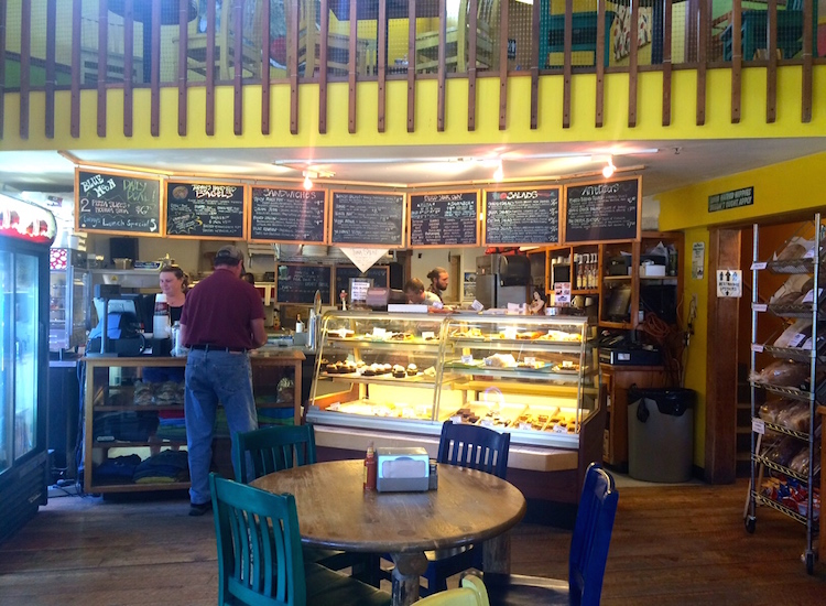 Blue Moon Bakery's fresh-baked bread and homemade pizza dough make it a must-try shop when families are exploring Big Sky, Mont. //© 2015 Chelsee Lowe