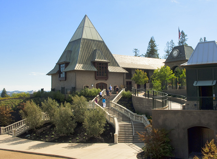 Francis Ford Coppola Winery is an all-ages playground that also includes a swimming pool, a movie museum and fun activities for kids. // © 2015 Chad Keig