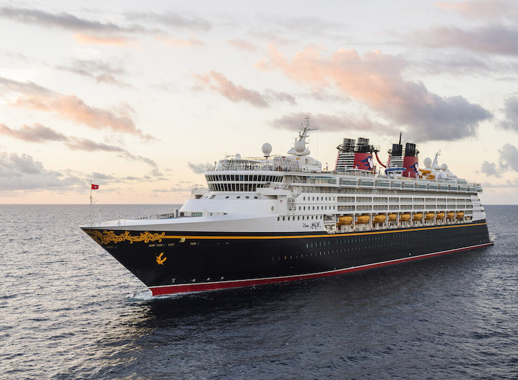 Disney Magic, refurbished in 2013, was the first ship launched under the Disney Cruise Line brand. // © 2016 Disney Cruise Line