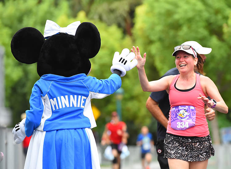 Tinker Bell Half Marathon Weekend is one of the top three largest women-focused races in the country. // © 2017 Disneyland Resort