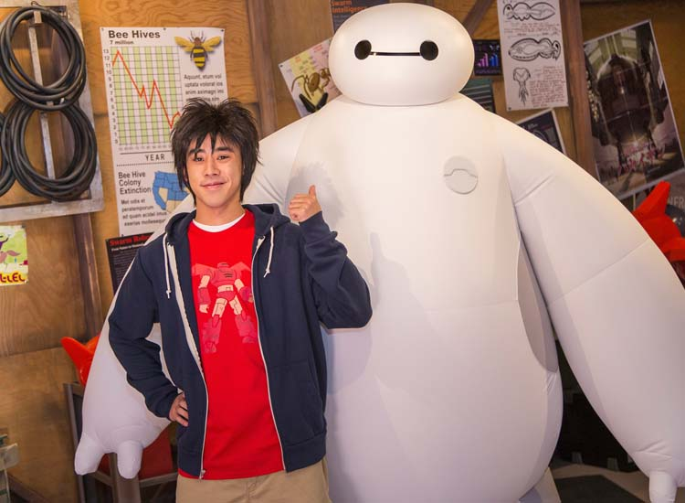 "One of Walt Disney World Resort's new and refreshed attractions, San Fransokyo Institute of Technology labs showcases characters from ""Big Hero 6."" // © 2015 Walt Disney World Resort"
