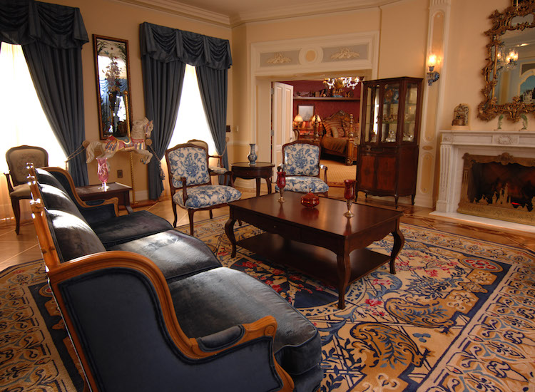 One lucky Diamond Days winner will receive an overnight stay in the Disneyland Dream Suite in New Orleans Square. // ©2015 Disneyland Resort