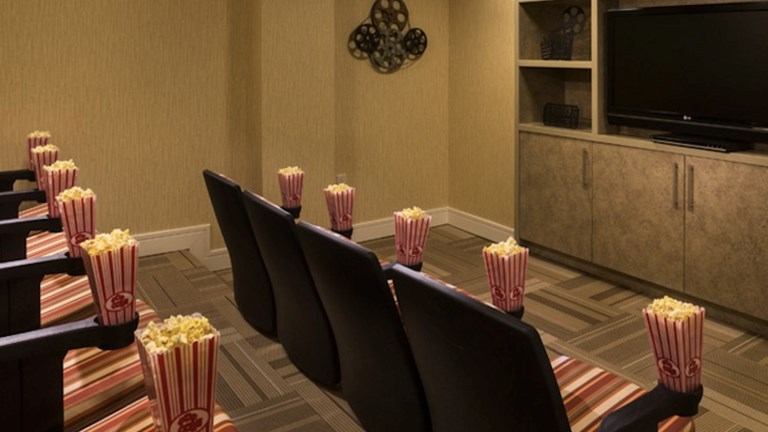 Movie screenings might be part of a Ritz Kids day at The Ritz-Carlton, Rancho Mirage near Palm Springs, Calif. // © 2015 The Ritz-Carlton