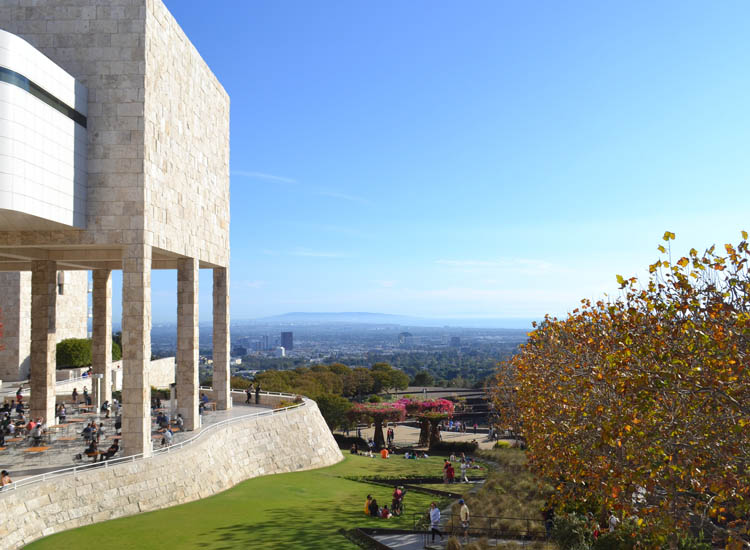 Located about 3 miles from campus, The Getty Center offers a vast art collection, beautiful gardens and sweeping city views. // © 2015 Creative Commons user acordova