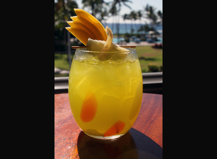 The Luana Cooler is one of the best signature Hawaiian drinks available. // (c) 2013 Fairmont Orchid Hawaii