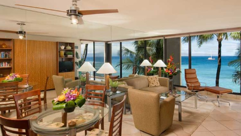 A suite at the Aston Kaanapali // © 2013 Aston Hotels & Resorts