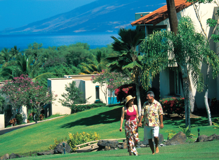 Among Outrigger's Maui condominium resort options is Palms at Wailea. // © 2017 Outrigger Hotels and Resorts