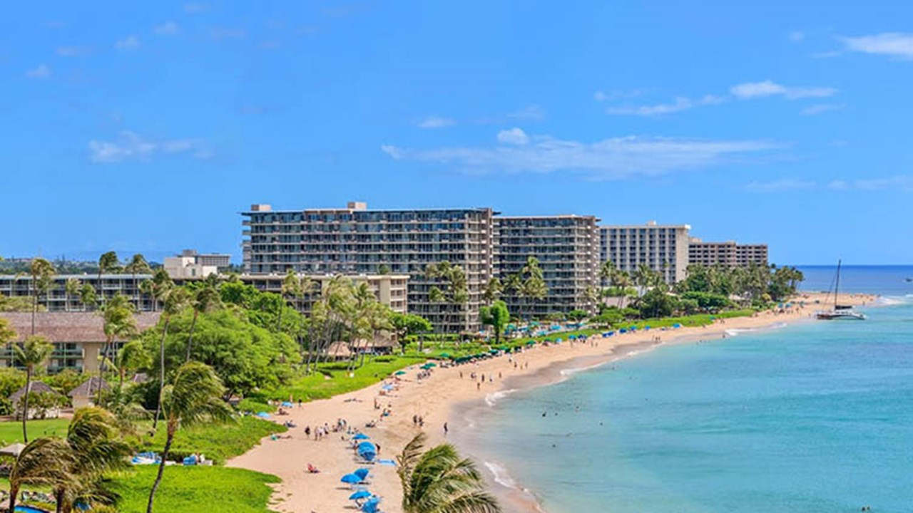 KBH's location on Kaanapali Beach offers easy access to places such as Whalers Village, which features 66 stores and restaurants. // © 2018 Kaanapali Beach Hotel