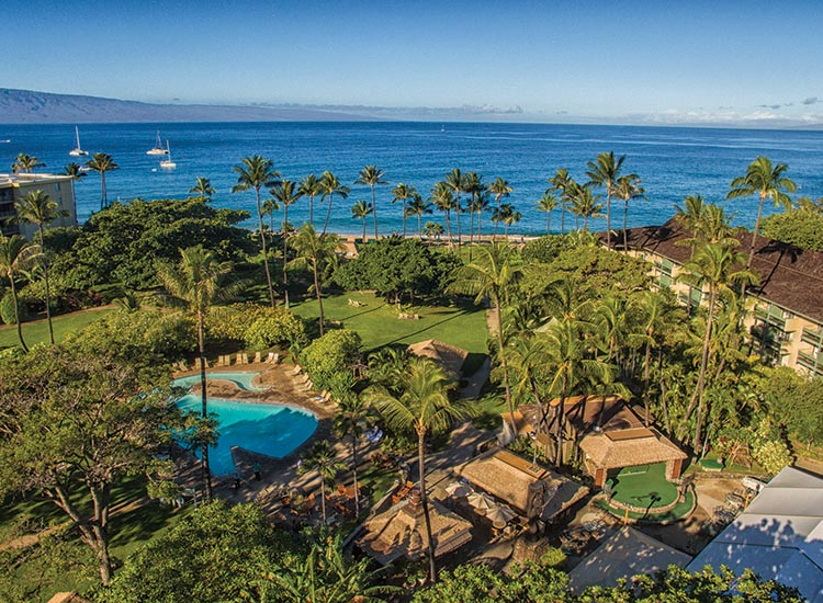 2018 Kaanapali Beach Hotel Guests Can Take A Dip In The On Site Whale Shaped Pool Or Stroll