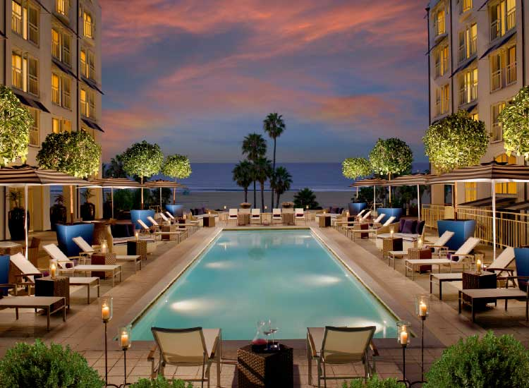 Loews Santa Monica 'Double Your Sunset' // © 2014 Loews Hotels and Resorts