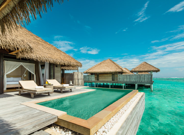 Como Maalifushi, a remote luxury resort in the Maldives, is just one bucket-list-worthy hotel to receommend to clients looking for a unique stay. // © 2016 Como Maalifushi