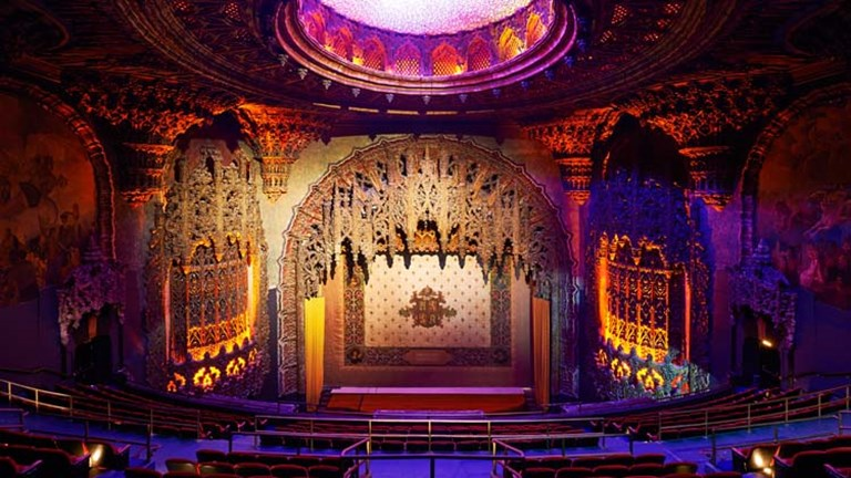 The Ace restored the historic United Artists Theater, which will now host concerts, premieres, private screenings and more. // © 2014 Spencer Lowell