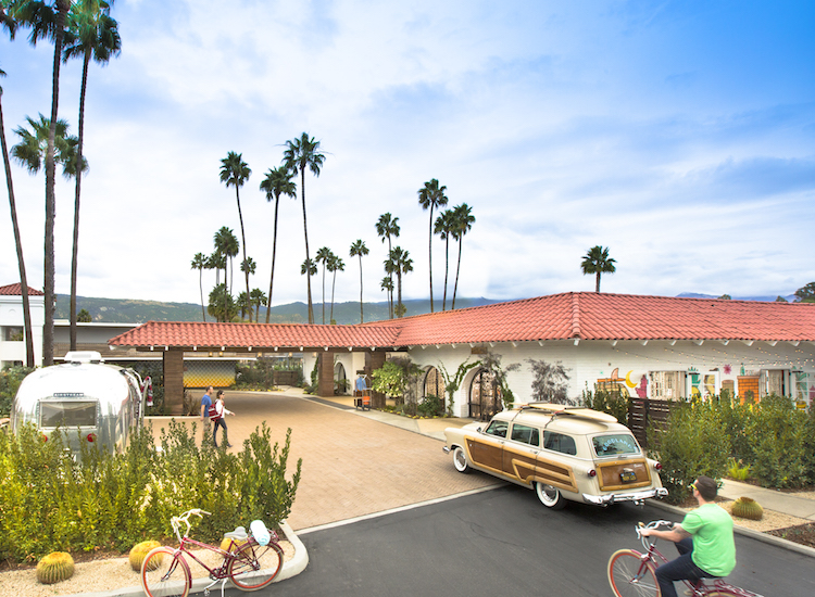 The Goodland in Goleta, Calif., embodies the ethos of the Kimpton brand, offering 158 eclectic rooms and suites just north of Santa Barbara. // © 2015 John Ellis