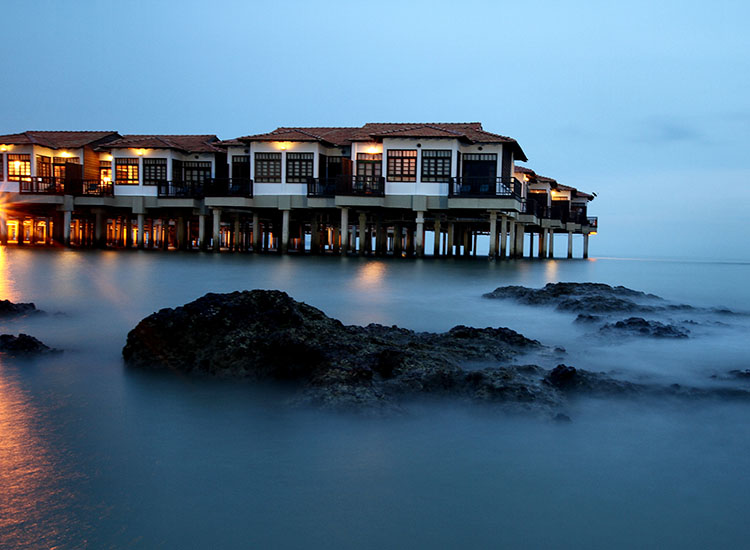 Malaysias Avillion Port Dickson Has Stylish Overwater Bungalows And Is A Short Walk Away From The
