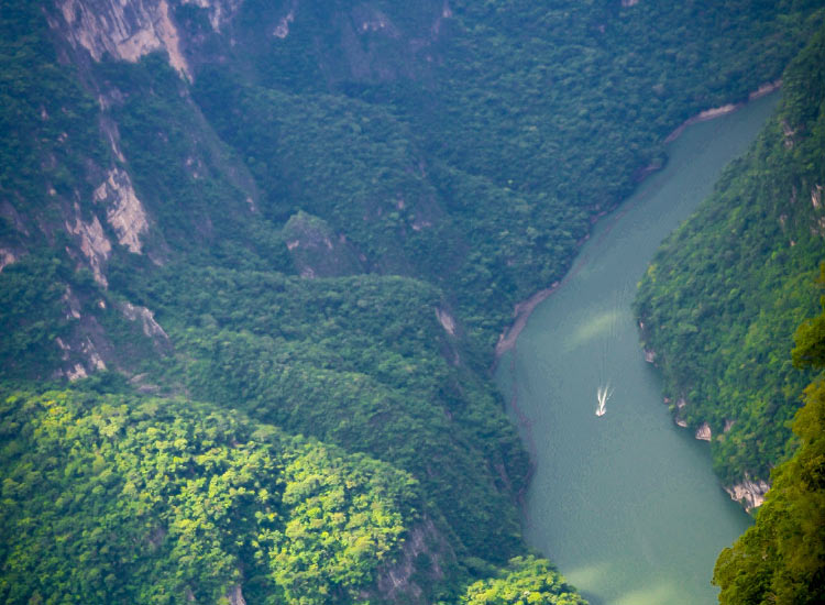 Canon del Sumidero National Park offers many adventure activity options. // © 2016 iStock