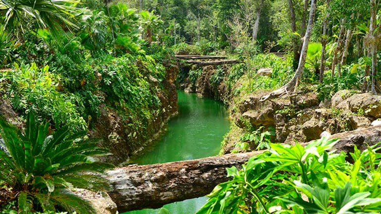 Cenotes are fed by underground rivers that run throughout the Yucatan Peninsula. // (c) Cancun CVB