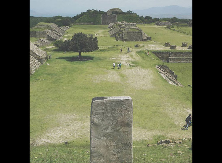 See where Instagram users are going to in Mexico, including Monte Alban in Oaxaca. // © 2015 Instagram user jerryman92