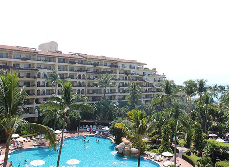 The all-inclusive Velas Vallarta started out as a series of condominiums, and it shows in the hotel's spacious suites. // © 2015 Garrett Kuwahara
