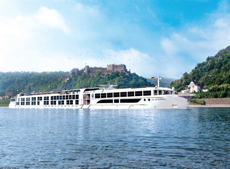 The Antoinette launched in 2011 // © 2013 Uniworld Boutique River Cruise Collection