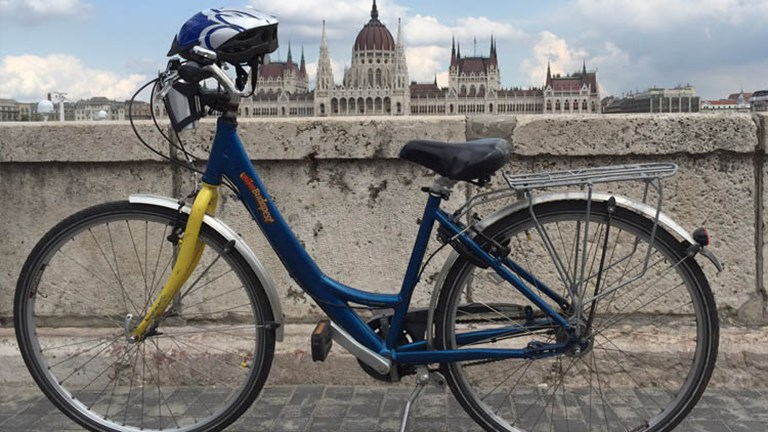Biking and hiking options are offered throughout Uniworld Boutique River Cruise Collection's Enchanting Danube itinerary. // © 2016 Mindy Poder