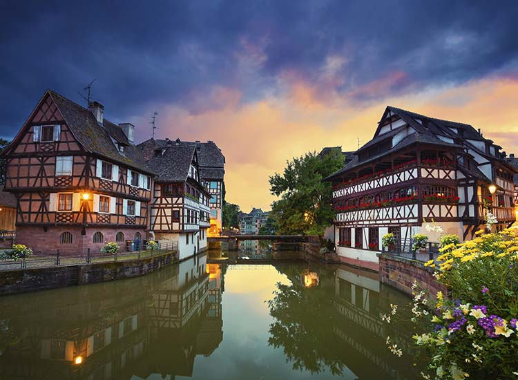 Strasbourg, France, is a favorite stop of Viking passengers sailing the Rhine River. // © 2017 Viking River Cruises