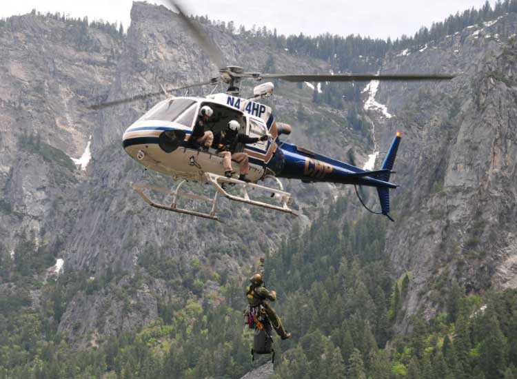 Every week, the Yosemite Conservancy shares the inner workings of the Search and Rescue team at Yosemite National Park. // © 2014 NPS Yosemite National Park
