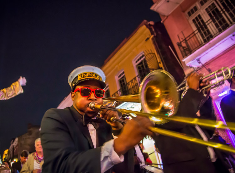 Since Hurricane Katrina 10 years ago, New Orleans has reclaimed its artistic and musical energy. // © 2015 Todd Coleman