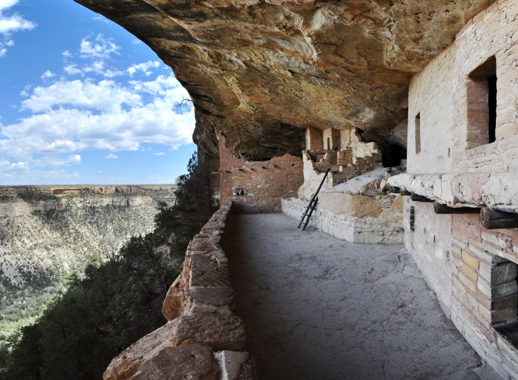 In Colorado's Mesa Verde National Park, visitors can see 600 cliff dwellings of the Ancestral Pueblo people that date back to 600 A.D. // © 2016 Insight Vacations