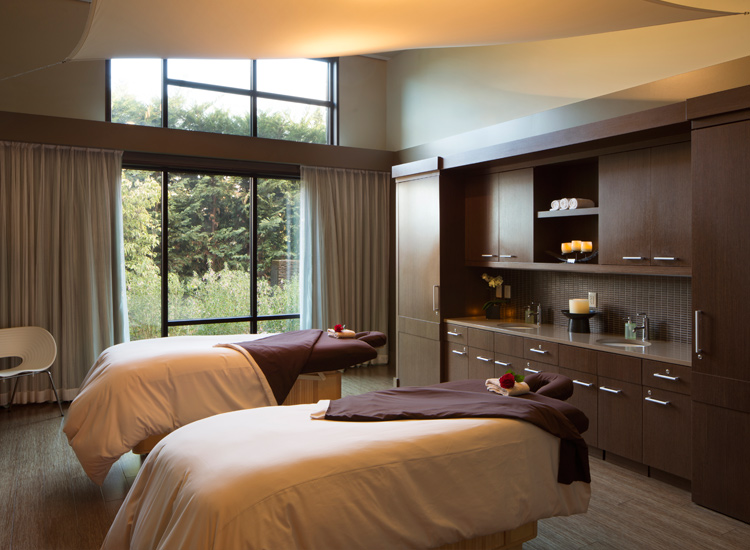 "High-quality spa treatments include the hotel's signature line of ""Pinotherapy"" treatments. // © 2017 The Allison Inn & Spa"