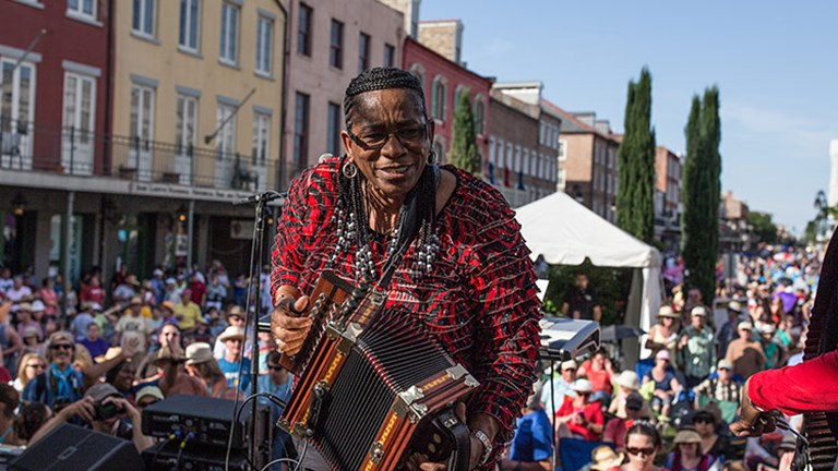 There are a myriad of festivals throughout the year in NOLA, with more to come in 2018 for the tricentennial. // © 2018 Zack Smith