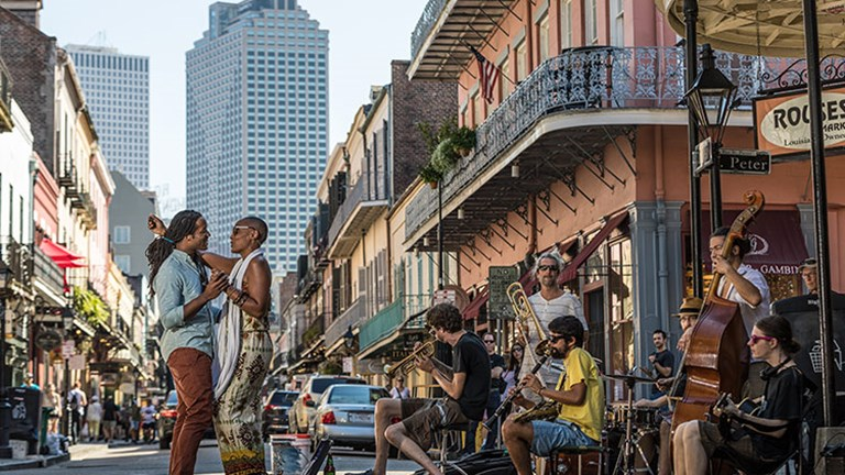 There will be no shortage of activities, entertainment and events this year in New Orleans for the city's tricentennial. // © 2018 Zack Smith