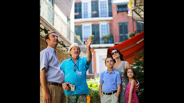 Families will enjoy learning about New Orleans' history. // © 2018 Chris Granger