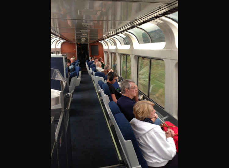 One reason traveling by rail is making a comeback is because clients want to see more of the U.S. // © 2014 Amtrak Vacations