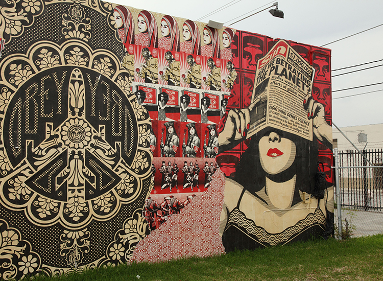 Wynwood Arts District in Miami includes more than 70 contemporary art galleries and museums. // © 2015 Greater Miami Convention & Visitors Bureau
