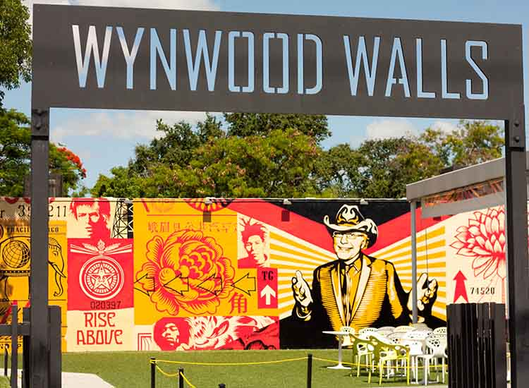 Wynwood Walls is a must-see for any client interested in art, particularly graffiti and street art. // © 2015 Wynwood Walls