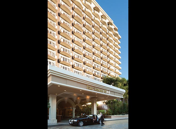 Four Seasons Hotel Los Angeles at Beverly Hills is building on enhancements from last year with more updates for 2017. // © 2017 Four Seasons Hotel Los Angeles at Beverly Hills