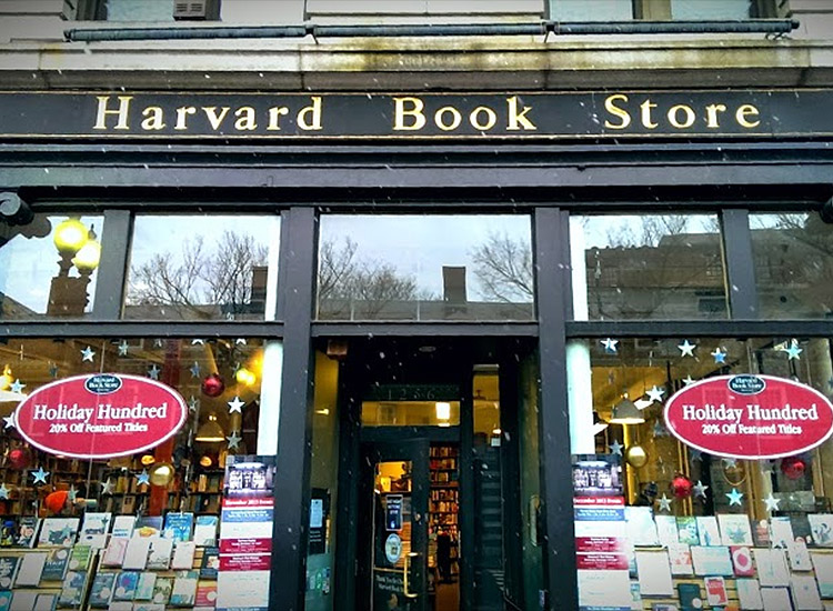 Harvard Book Store allows you to print any public domain works in-store. // © 2015 Harvard Book Store