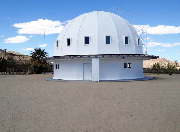 George Van Tassel, the creator of the Integratron, said that aliens told him to build the structure. // © 2014 Michael Berick